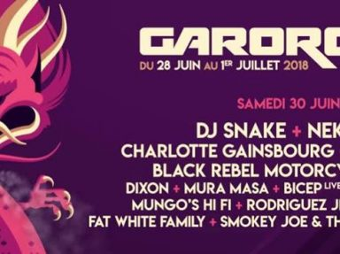 Garorock_2_Logo + artistes