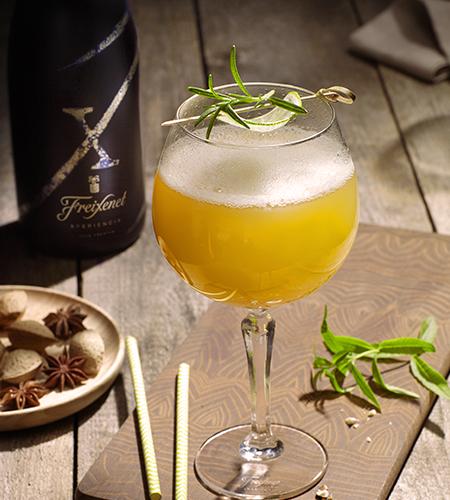 Cocktail Sangria X fizz